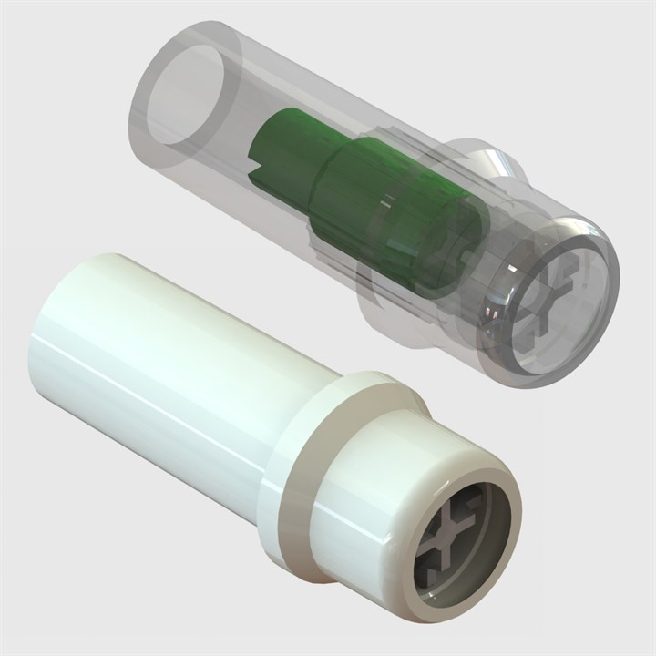 Luer Syringe Check Valves - Pack Size 50