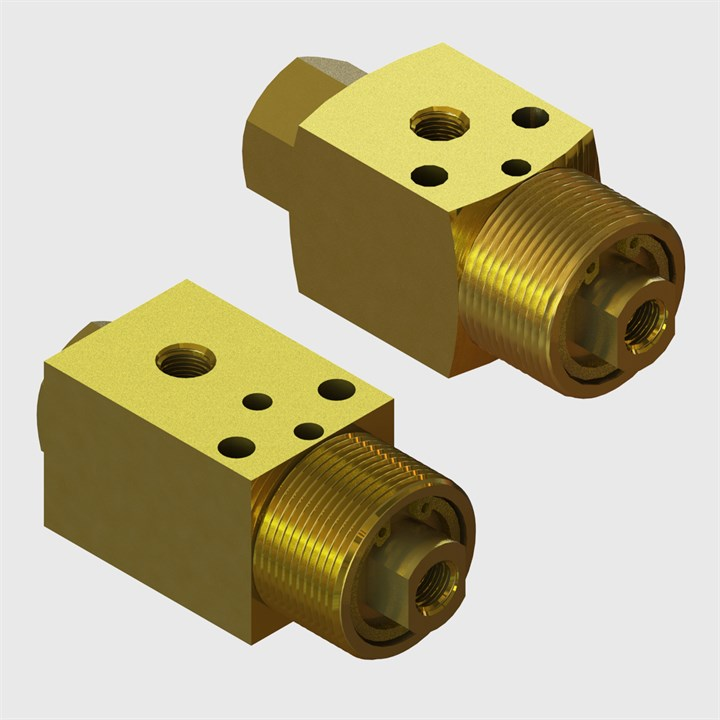 M5 2 & 3 Way Normally Closed Poppet & Spool Valves – Air Piloted Actuation