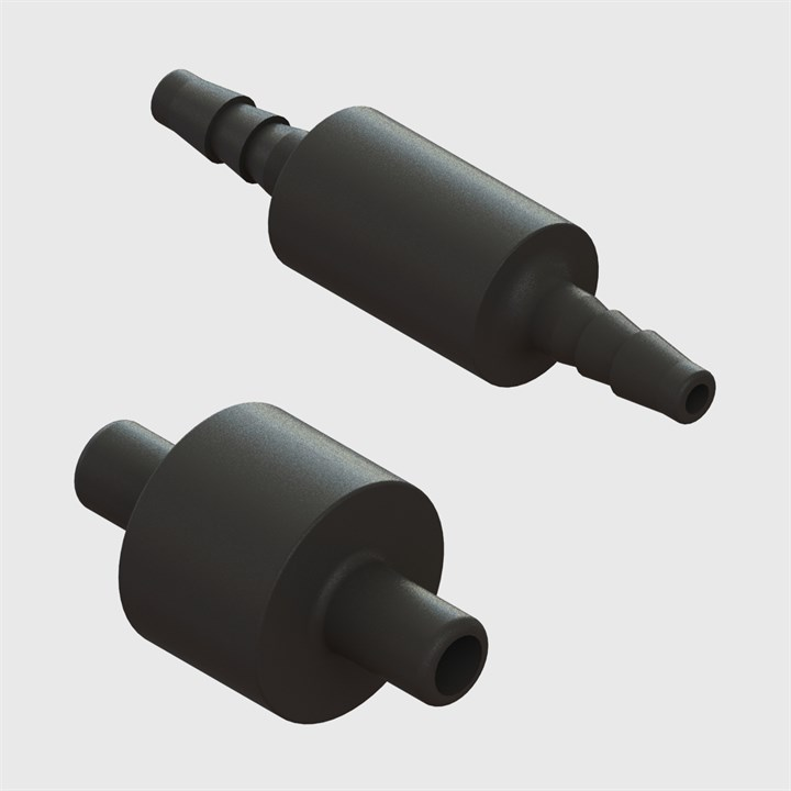 Multi-Barb Tube to Tube Equal Straight Connectors