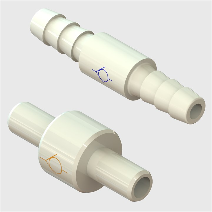 Polysulfone Floating Disc Check Valves