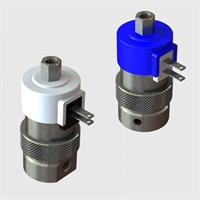 3 Way Fully Ported Solenoid Valves, Spade Terminals - 12 & 24VDC
