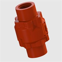 Modular Check Valve, Female Thread Input and Output, Nitrile Seals, Various Cracking Pressures