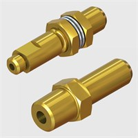 Natural Brass Coupling Sockets-Screw Type