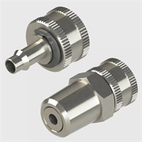 Plated Brass Coupling Plugs-Screw Type