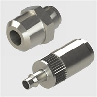 Plated Brass Coupling Sockets-Screw Type