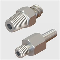 Stainless Steel Luers - Luer to Thread