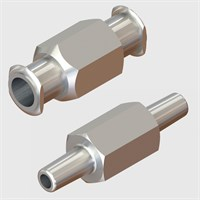 Stainless Steel Luers - Luer to Luer