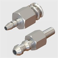 Stainless Steel Luers - Luer to Tube
