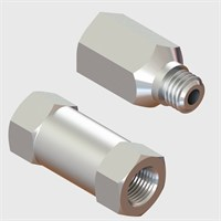 Nickel Plated Brass Bodied Check Valves with Viton Seal