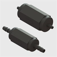 PVDF (Kynar®) Bodied Check Valves with EPDM or Viton Seals