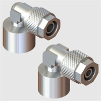 Nickel Plated Brass Fittings-Fixed Female Elbows