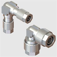 Nickel Plated Brass Fittings-Elbow Connectors