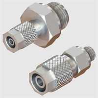 Nickel Plated Brass Fittings-Straight Male-Fixed