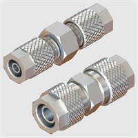 Nickel Plated Brass Fittings-Straight Connectors