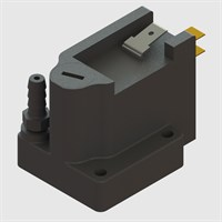 "Flush Mount Adjustable Vacuum Switches - 1/8"" Barbed Inlet"