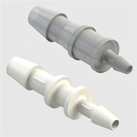 Single Barb Tube to Tube Reducing Straight Connectors - Pack size 10