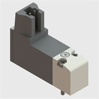 Push-in Series Replacement Solenoid Valve, Normally Closed, 24VDC